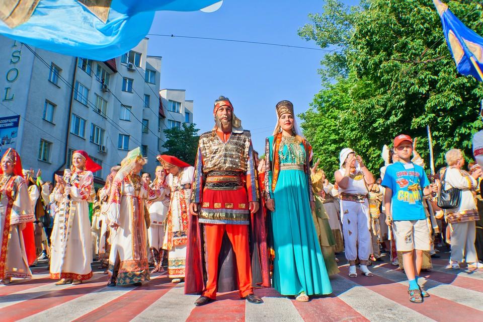 Со 2 по 5 июня в Симферополе скучать не будут ни взрослые, ни дети.