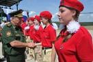 Нижегородские школьники стали Юнармейцами