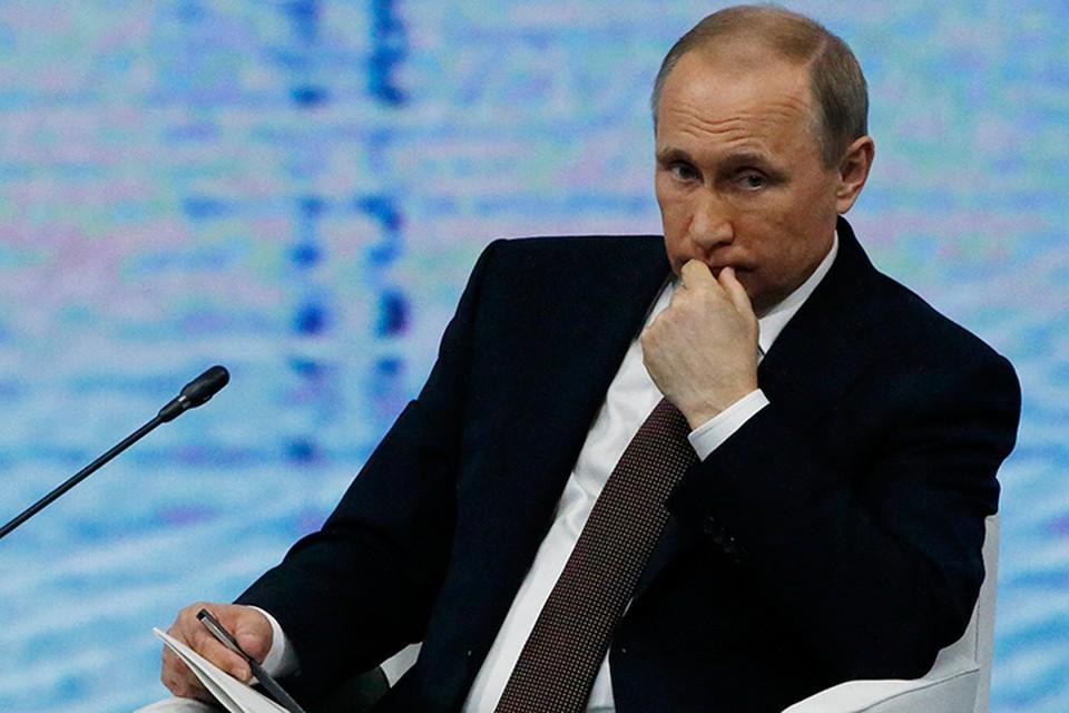 При этом какого-то изменения в санкционной политике ЕС Путин не ждет