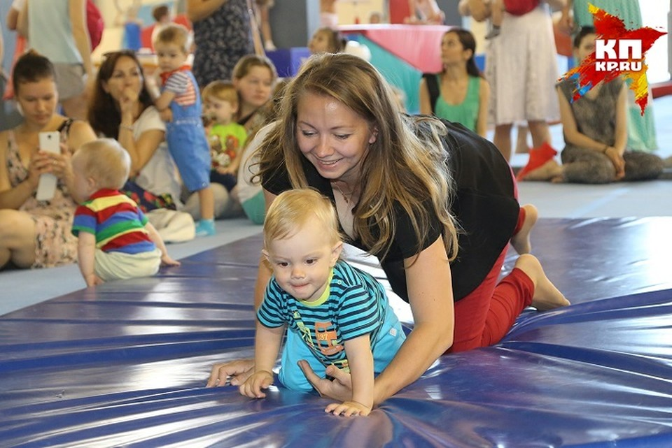 Ежегодный праздник для детей до 3 лет «Маленький чемпион» прошел в Центре Гимнастики.