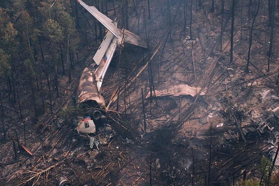 Крушение самолета Ил-76 в Иркутской области: обнаружены шесть тел членов экипажа и второй «черный ящик»
