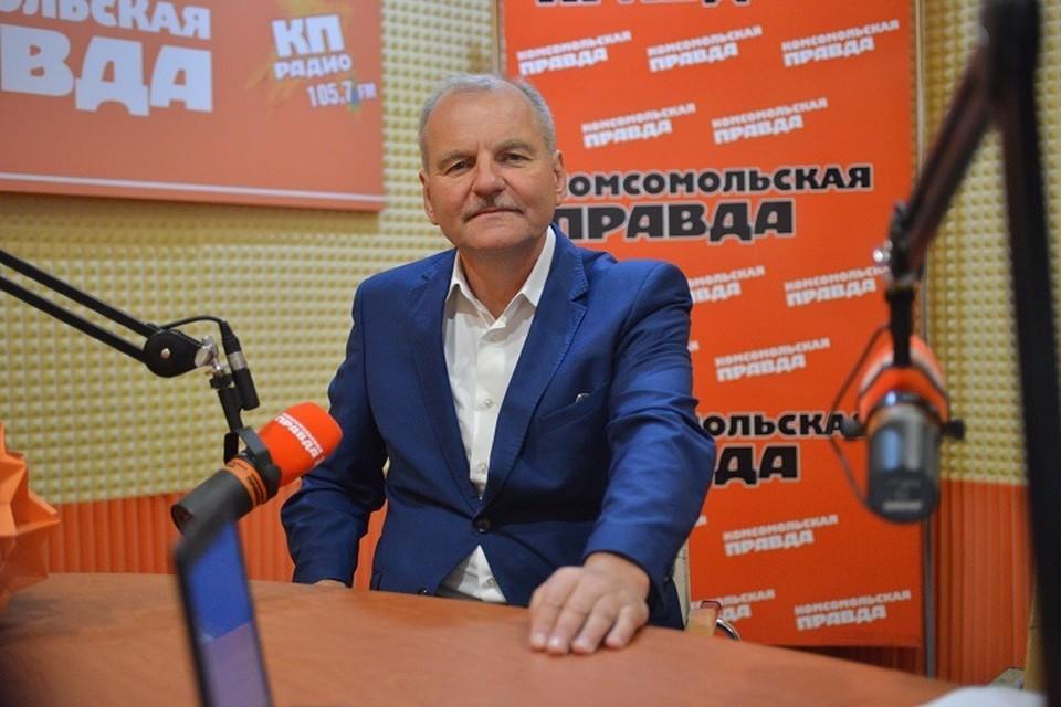 руководитель Ставропольских парков культуры и отдыха Виктор Бондаренко
