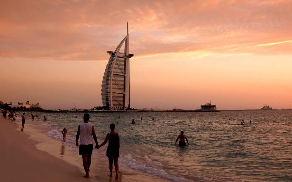 За такими закатами и такими видами лететь в Дубай точно стоит!