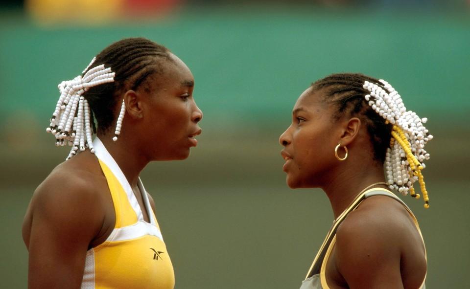 Американские теннисистки Серена и Винус Уильямс.