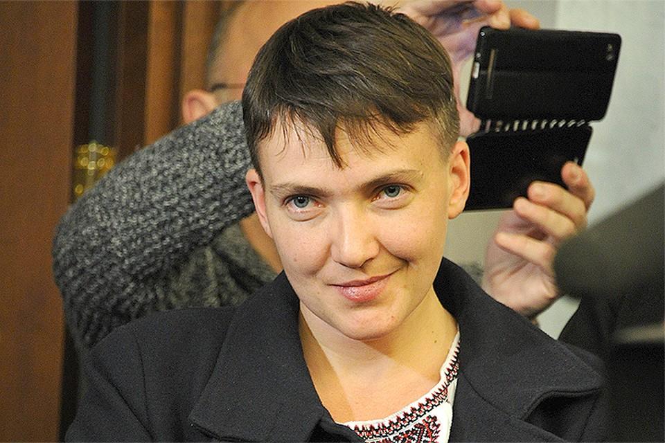 Депутат Савченко поздравила нового главу Белого дома с избранием и попросила поднажать на Россию санкциями.