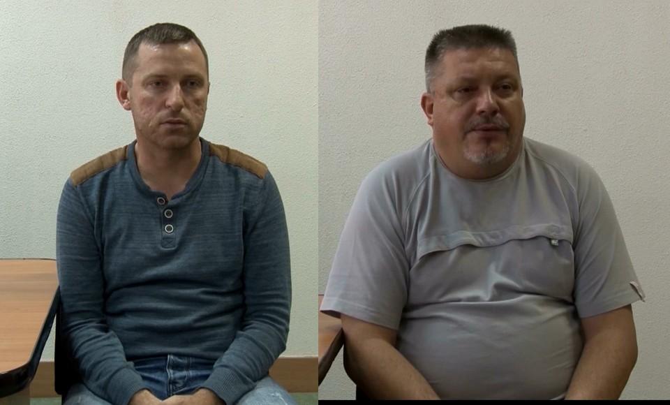 Алексей Бессарабов и Дмитрий Штыбликов. Фото: скрин