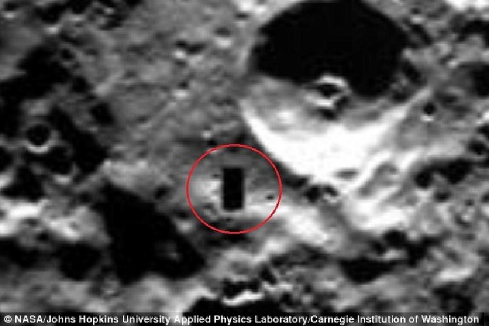 На Меркурии чернеет нечто очень странное.