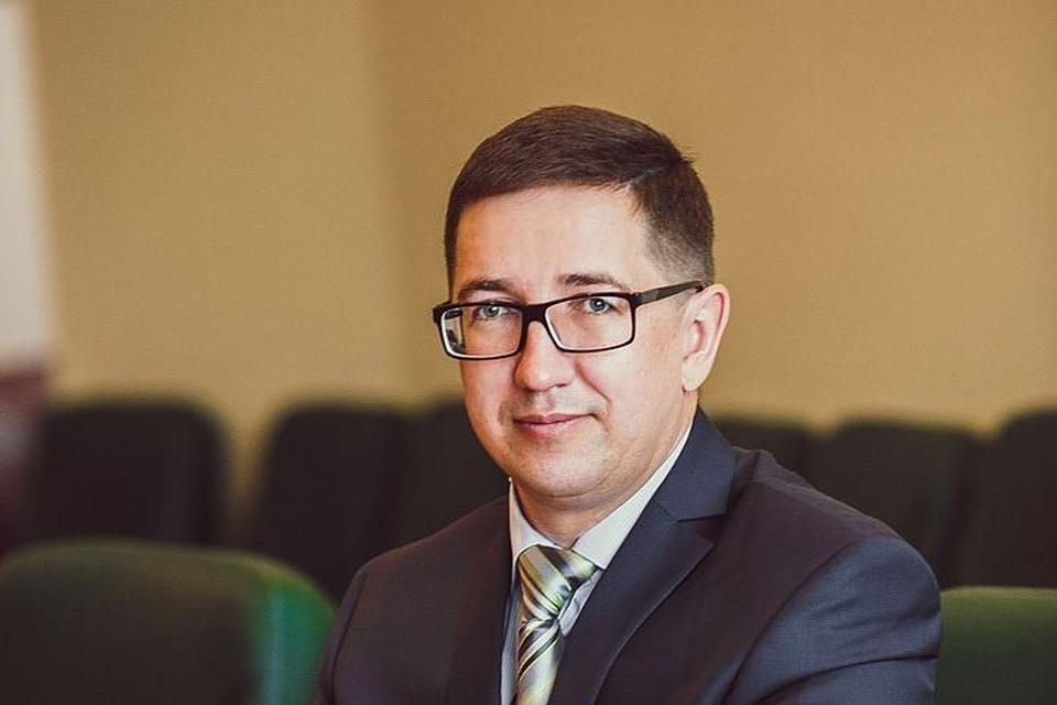 """Директор ОАО """"Барнаульский пивоваренный завод"""" Алексей Рыбников"""