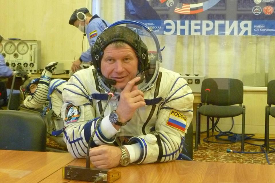 Олег Новицкий отправляется в космос второй раз. Фото: из личного архива.