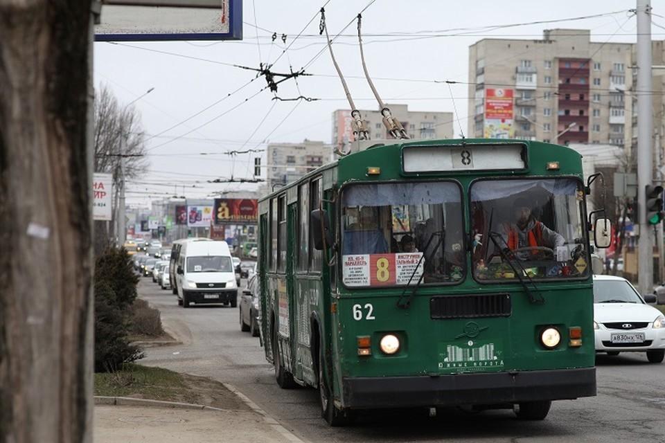 Троллейбус в Ставрополе