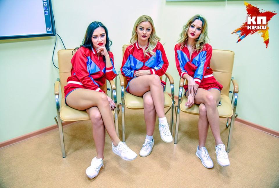 Ольга Серябкина, Катя Кищук и Полина Фаворская оказались поклонницами рок-музыки