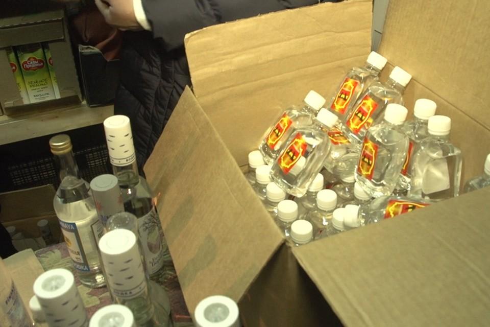 Еще две точки незаконной продажи алкоголя обнаружили в Ленинском районе Иркутска. Фото: пресс-служба администрации Иркутска.