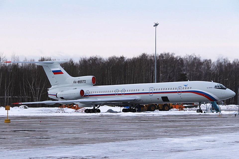 Ту-154 это вполне надежный самолет, который эксплуатируется не только в Министерстве обороны, но и в гражданской авиации. Фото: Дмитрий Петроченко/ТАСС