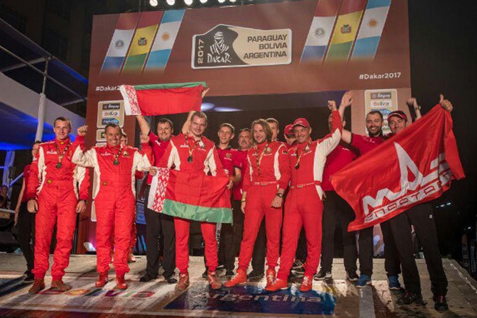 Наши гонщики - одни из лучших в мире. Фото: vk.com/mazbelarus
