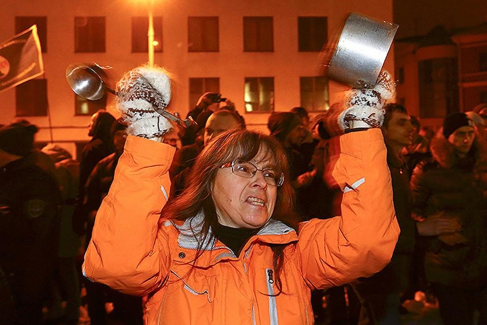 Подобного Минск не видел с декабря 2010-го.