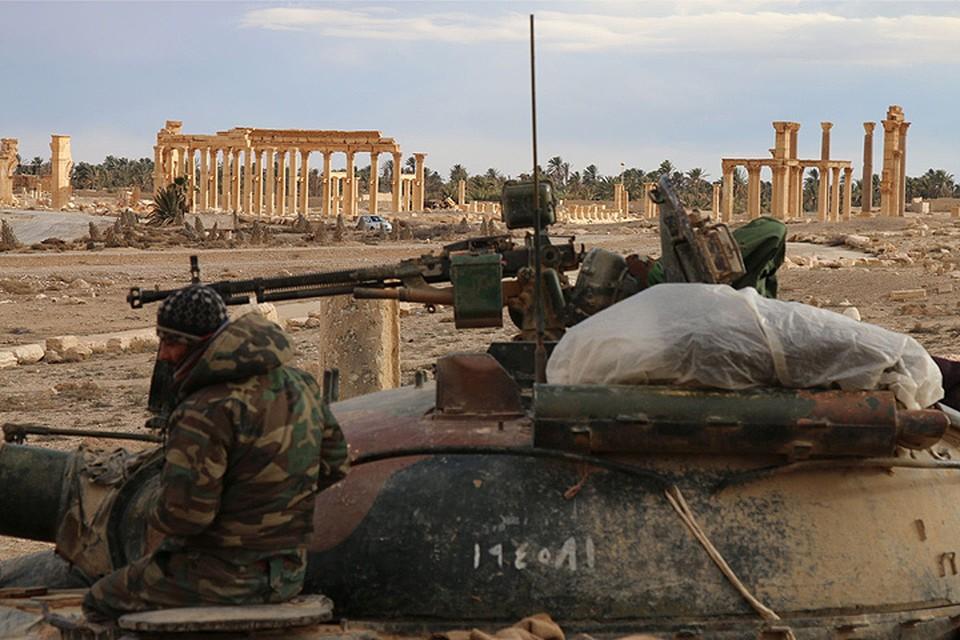 Правительственные войска Сирии выбили террористов из древней Пальмиры.