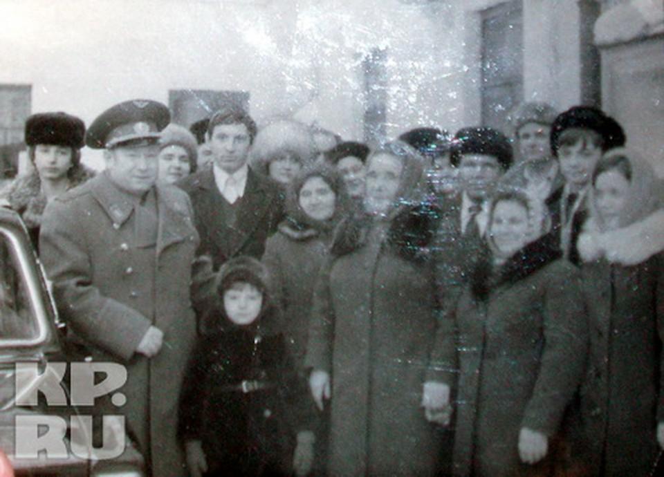 Космонавт Леонов после полета приехал в родной Кузбасс