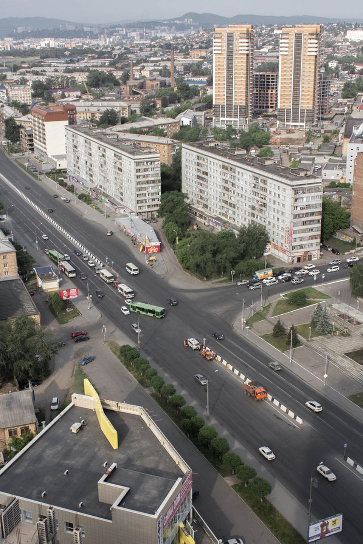 Красноярск: вид с крыш