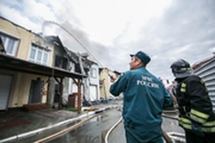 Фоторепортаж с пожара