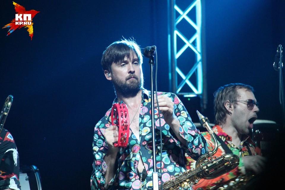 Концерт Сергея Шнурова в Новосибирске
