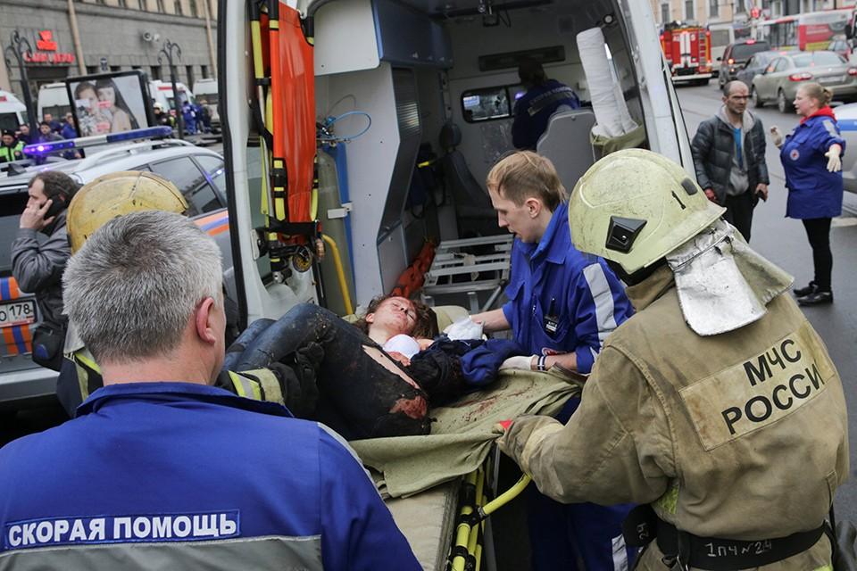 На станции «Технологический институт» в Петербурге прогремел взрыв