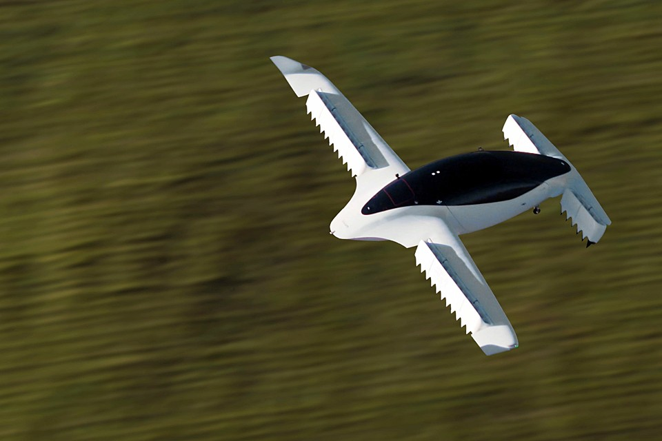 В Германии проходят испытания летающего такси  Lilium