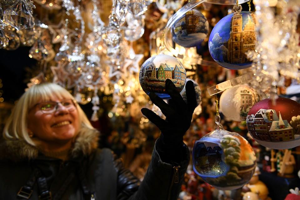 В немецком Нюрнберге начались рождественские недели