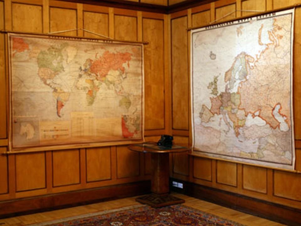 Любимые карты Сталина