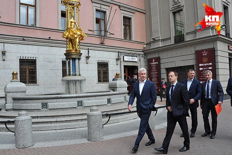 Новая сцена Театра Вахтангова откроется в октябре.