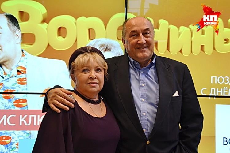 Анна Фроловцева и Борис Клюев поздравили воронежцев с Днем города.
