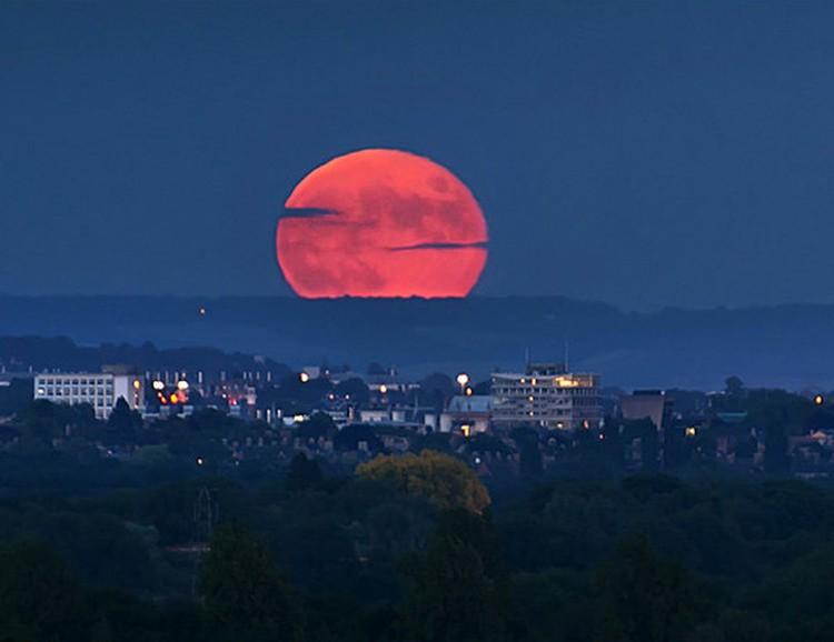 «И Солнце стало мрачно, как власяница, и Луна сделалась, как кровь».  (Откровения 6:12.)