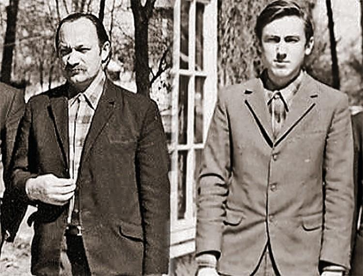 Пранас Бразинскас и его сын Альгирдас не стали за границей богачами - работали обычными малярами.