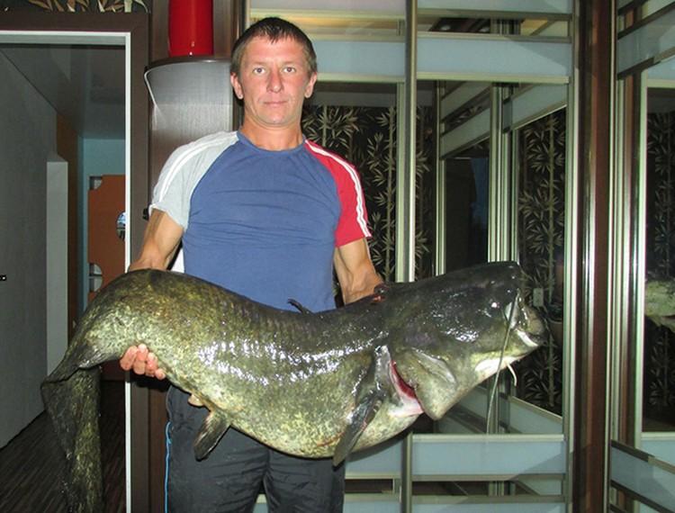 Семья Виктора ест рыбу часто - глава семейства заядлый рыбак-охотник. Фото: из личного архива.