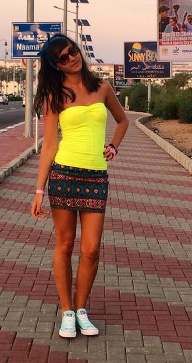Виктория Севрюкова впервые полетела в Египет. Фото: соцсети