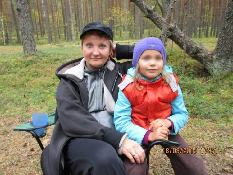 Юлия Герасина и ее дочка Юлечка. Фото: соцсети