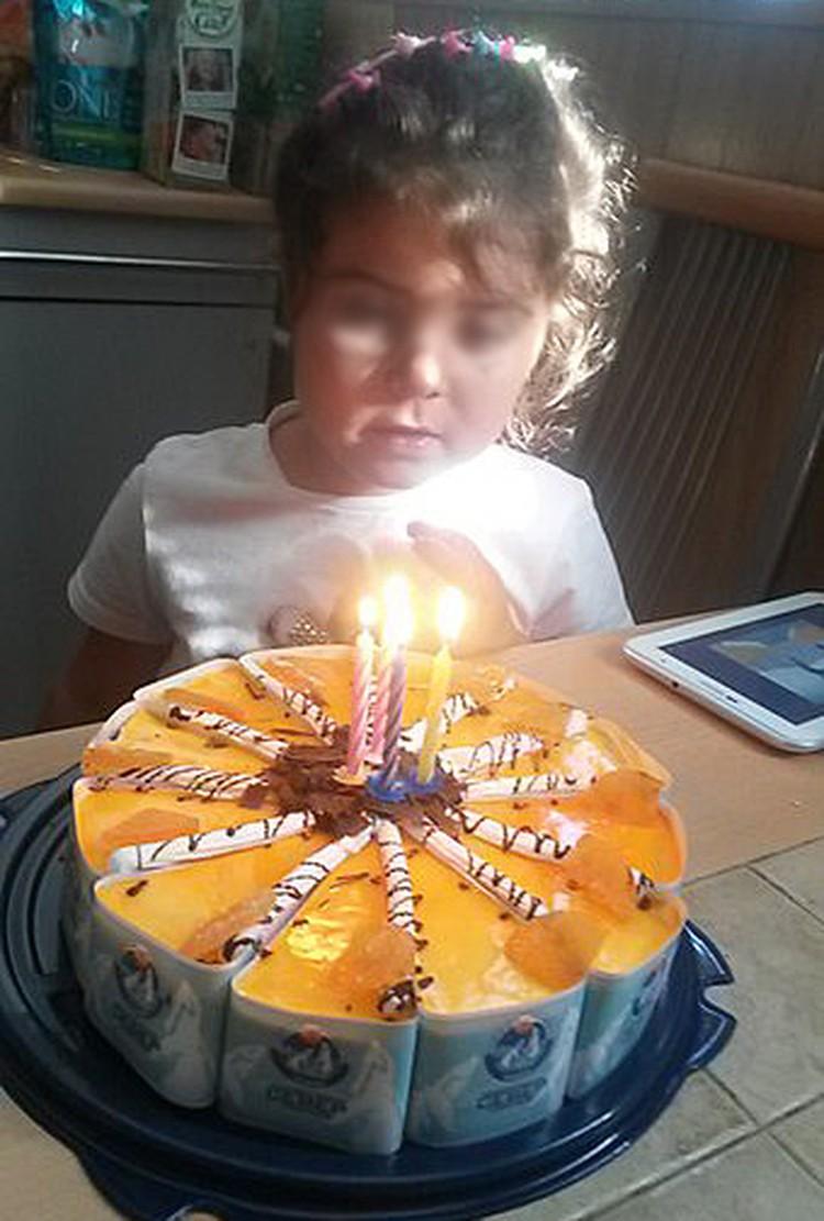Диана 2 сентября отпраздновала четырехлетие. Фото: соцсети
