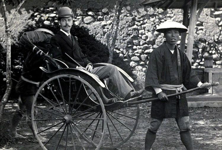 Николай Александрович в Нагасаки.