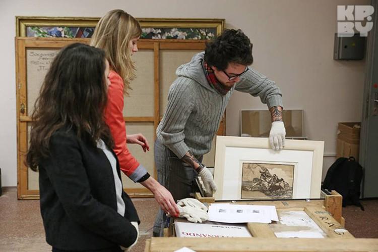В Минск приехало 15 работ Пикассо. Все остальное - Франсиско Гойя.