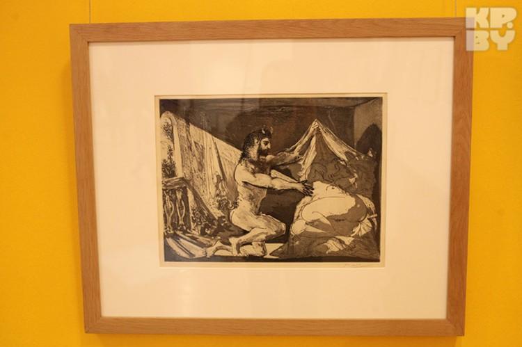 В Минск привезли 18 работ Пикассо.