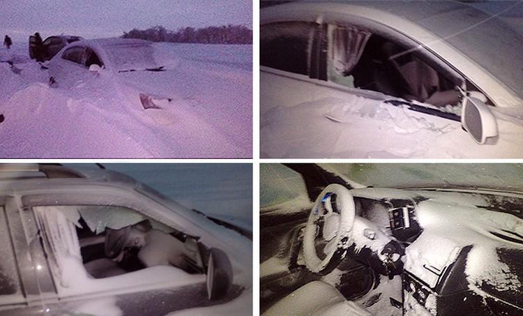 Помощь застрявшим водителям и пассажирам подоспела лишь на следующий день - 3 января