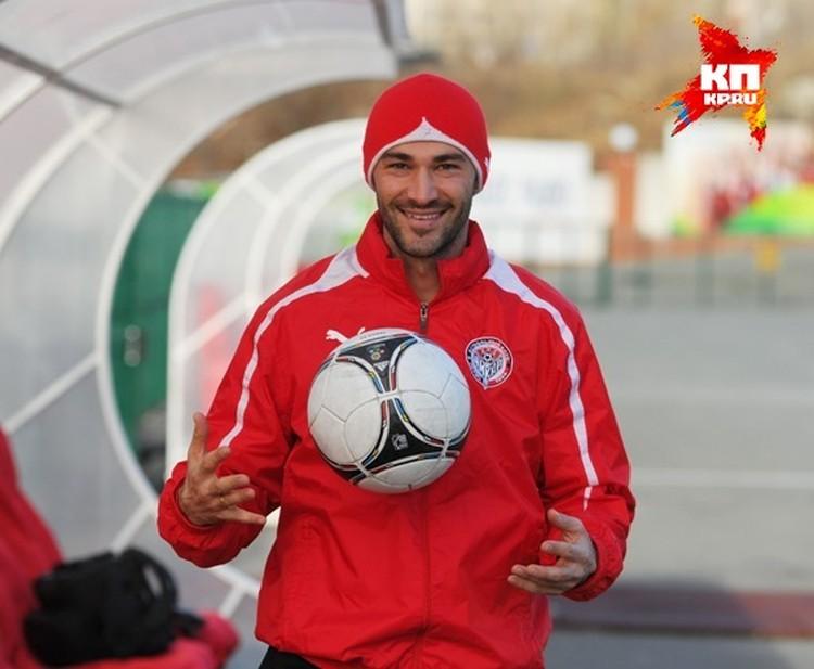 Игрок футбольного клуба «Амкар»,лучший бомбардир команды сезона 2014 - 2015 годов.