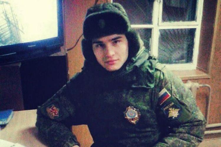 Давид Загиншин до армии был активистом и волонтером.