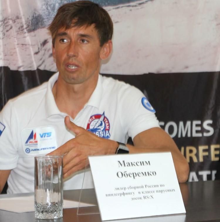 Максим - лидер российской сборной по виндсерфингу в классе парусных досок