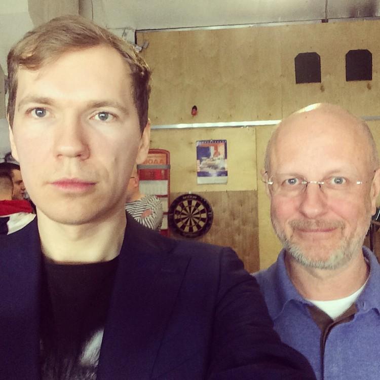 Эдвард Чесноков и Дмитрий Пучков.