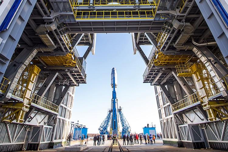 Космодром Восточный - самая современная и самая умная звездная гавань мира. Фото: Роскосмос