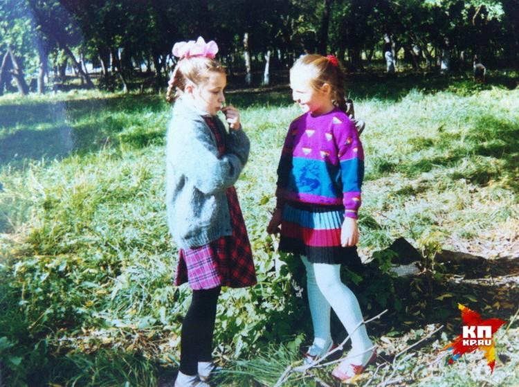 Пелагея Ханова и Женя Измайлова - обычные девчонки 1990-х. Фото: личный архив Евгении ИЗМАЙЛОВОЙ