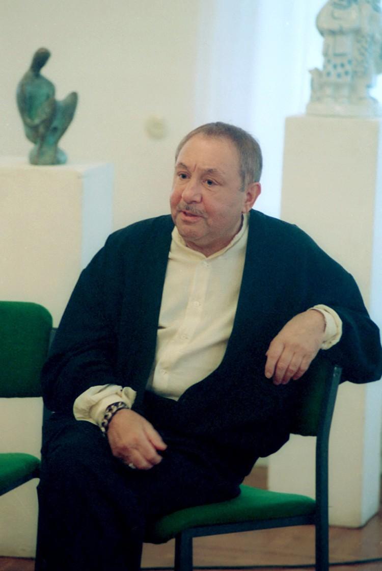 На 92-м году жизни скончался выдающийся русский скульптор
