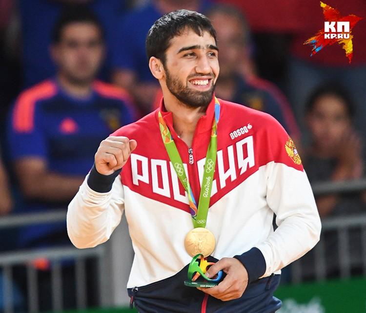Хасан Халмурзаев - золотой призер ирг в Рио по дзюдо среди мужчин весом до 81 килограмма
