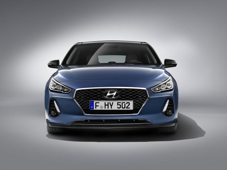 Кузов Hyundai i30 на 53% состоит из современной высокопрочной стали (AHSS)
