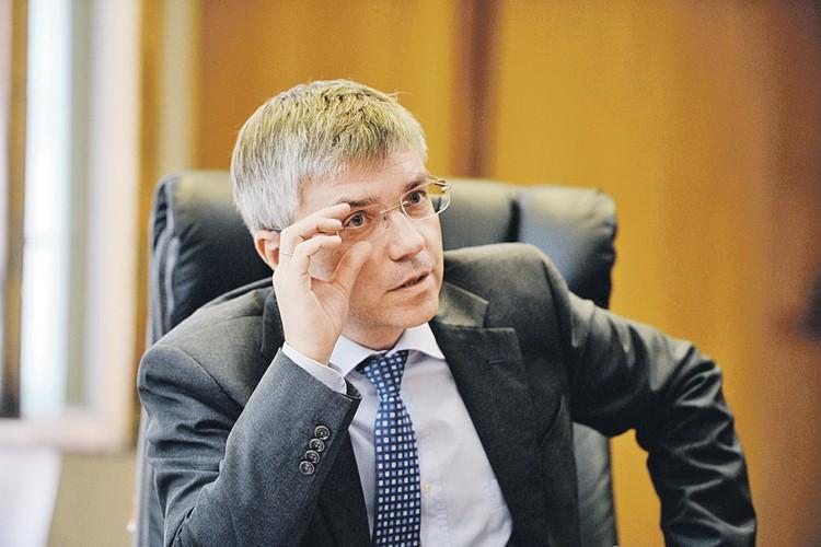 Телеведущий Евгений Ревенко. Фото: Максим БЛИНОВ/РИА Новости